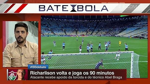 Nicola destaca números de Richarlison contra o Grêmio, mas avalia: 'Eu nunca pagaria 40 milhões'
