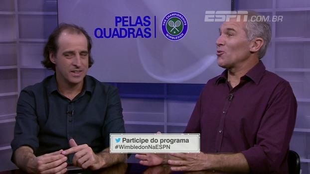'Pelas Quadras' analisa campanha de Federer e Nardini fala sobre situação: 'Não é para normais'