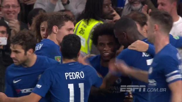 Assista aos melhores momentos de Chelsea 2 x 1 Everton