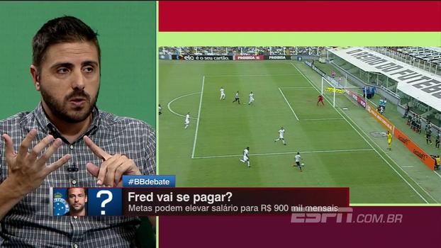 R$ 45 milhões e salário que pode chegar a R$ 900 mil: o custo de Fred para o Cruzeiro