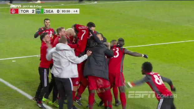 Assista aos melhores momentos da vitória do Toronto FC sobre o Seattle Sounders por 2 a 0!