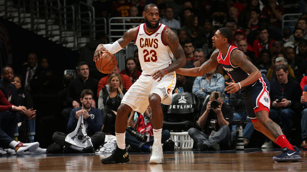 NBA: Lances de Washington Wizards 99 x 106 Cleveland Cavaliers