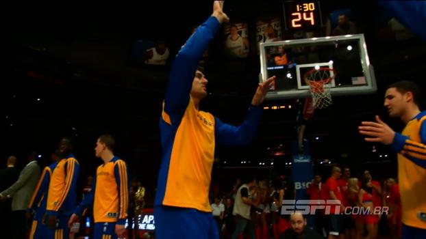 Campeão com os Warriors, Andrew Bogut acerta com o Los Angeles Lakers