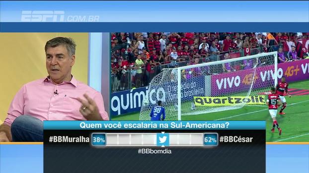Zetti analisa erros de Muralha no Flamengo: 'Falha de goleiro inseguro'