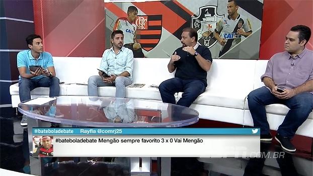 Comentaristas analisam clássico carioca e distância entre elencos de Flamengo e Vasco