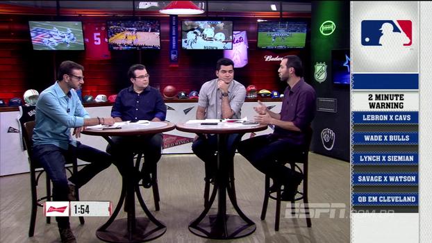 Two-Minute Warning do ESPN League destaca os assuntos mais quentes da semana