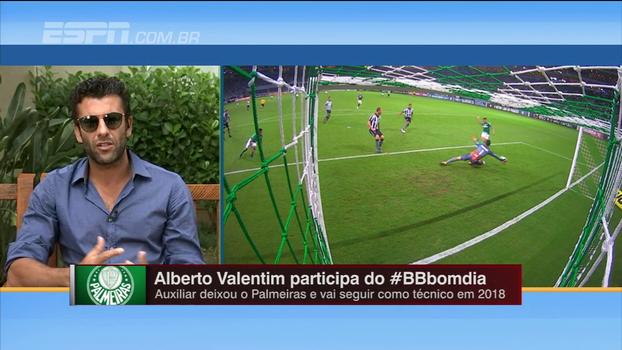 Valentim diz que respeita decisão da diretoria, mas admite que tinha esperança de ser treinador do Palmeiras