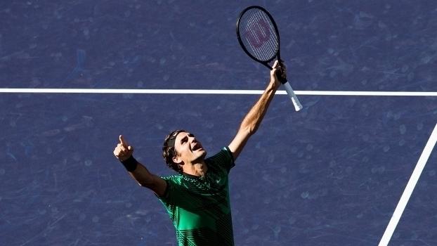 Masters 1000 de Indian Wells: Lances de Roger Federer 2 x 0 Stanislas Wawrinka