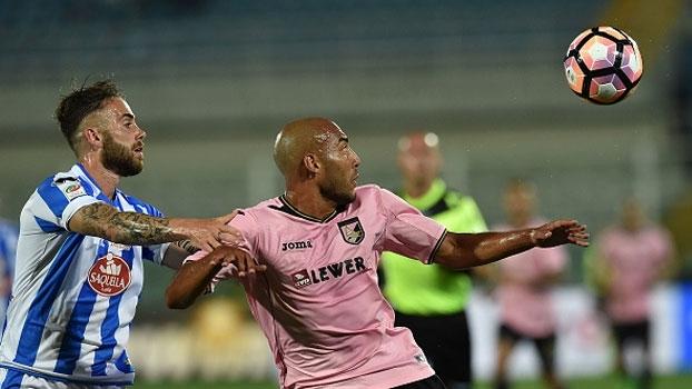 Em jogo de 'rebaixados', Pescara se despede de sua torcida com vitória sobre o Palermo