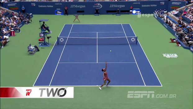 Golaços, toco duplo e belas jogadas de Venus Williams e Sharapova; veja o Top 10 do espnW