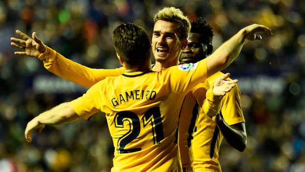 Veja os melhores momentos de Levante 0 x 5  Atlético de Madri