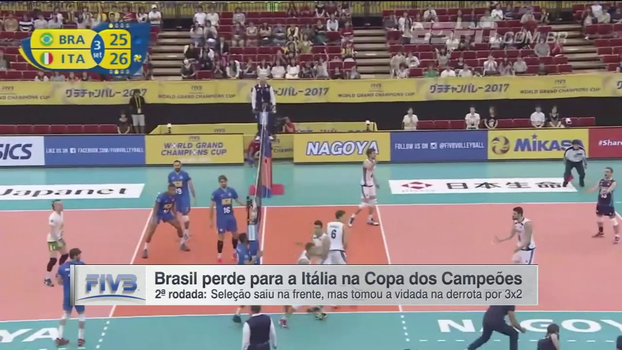 Copa dos Campeões: Lances de Brasil 2 x 3 Itália