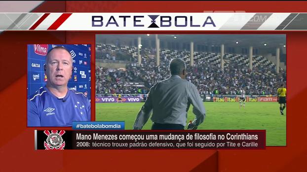 Mano avalia mudança de filosofia no futebol brasileiro: 'Melhorar organização e aprimorar o que temos de bom'