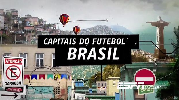 """Brasil, o país da Copa do Mundo de 2014, é o destaque da nova edição do """"Capitais do Futebol"""""""