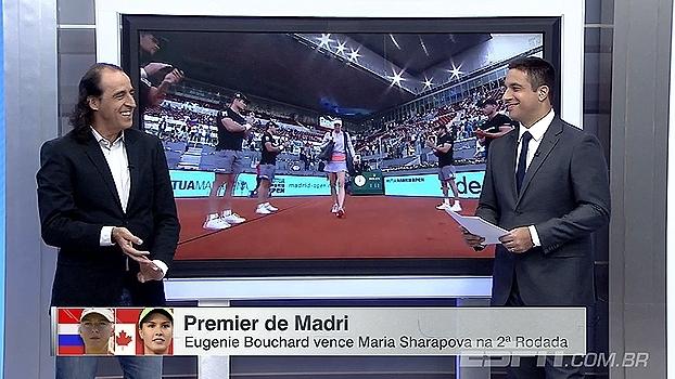 Meligeni analisa rivalidade e troca de farpas entre Bouchard e Sharapova: 'Isso é tênis'