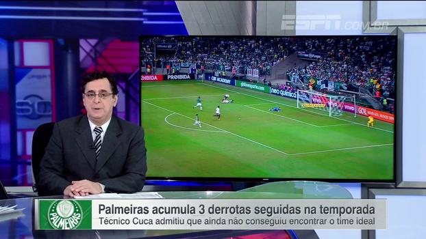 'Escalafobética'! Antero analisa momento do Palmeiras: 'Vem arrastando erros enormes desde o início da temporada'