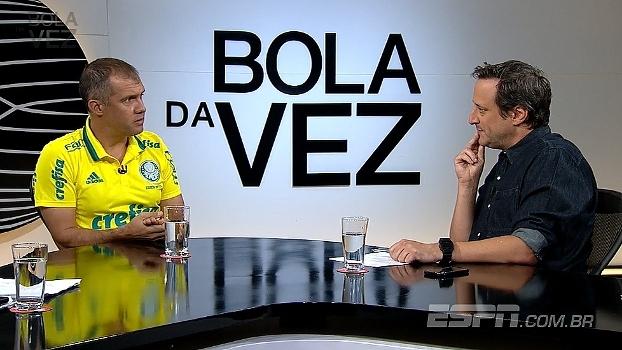 Eduardo Baptista vê Michel Bastos jogando no meio e Guerra versátil na equipe do Palmeiras