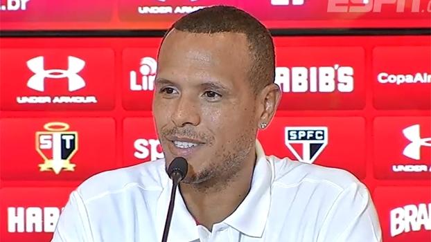 Luis Fabiano diz que não foi procurado para renovar e anuncia saída do São Paulo