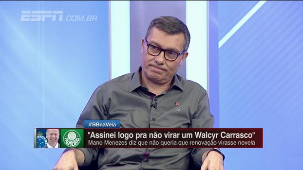 Para João 'Canalha', futebol de talento está acima da organização; Calçade discorda: 'Não está sobrando isso'
