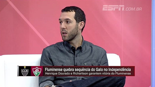 Hofman: 'Atlético-MG jogou bem, por isto a vitória do Fluminense deve ser ressaltada'