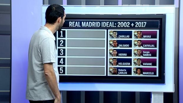 Zidane, 45 anos: montamos o combinado entre o Real Madrid de 2002 e o de 2017, ambos do francês; veja