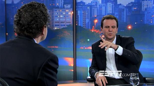 Eduardo Paes fala sobre responsabilidade nas Olimpíadas: 'se algo sair errado, vão bater na minha porta'