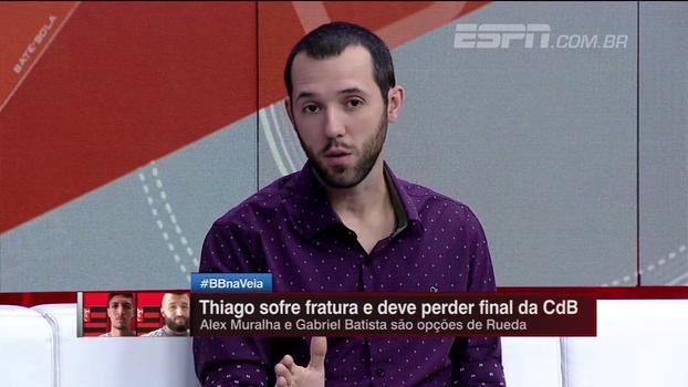 Hofman explica o motivo do Flamengo não ter inscrito o goleiro César na Copa do Brasil; entenda