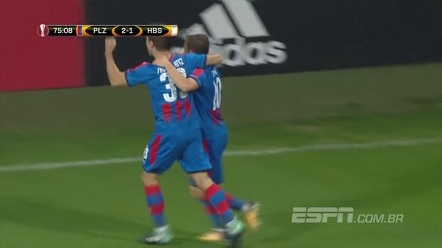 Veja os gols de Viktoria Plzen 3 X 1 Hapoel Be'er Sheva