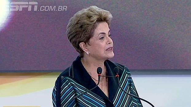 Dilma promete Olimpíada bem sucedida mesmo com 'momento crítico da história' do Brasil