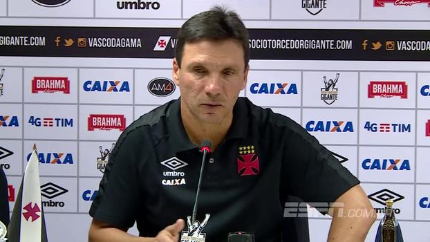 Zé Ricardo garante luta do Vasco até o fim do campeonato