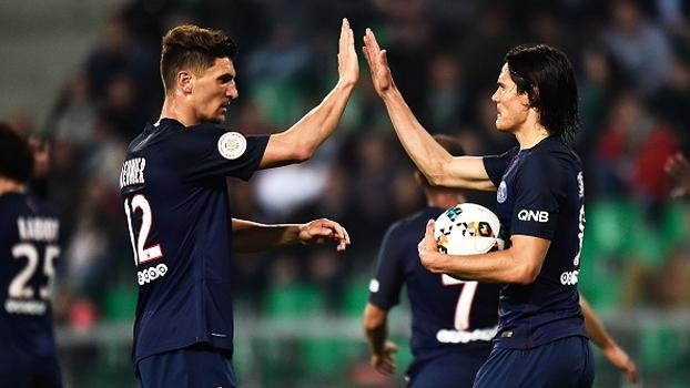 Francês: Gols de Saint-Étienne 0 x 5 PSG