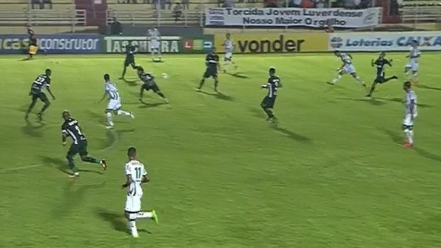 Série B: Gol de Luverdense 1 x 0 Goiás
