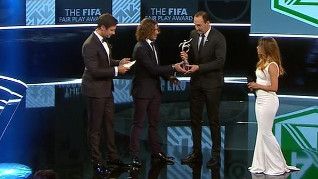 Atlético Nacional recebe prêmio Fair Play, e Chape é homenageada em premiação da Fifa