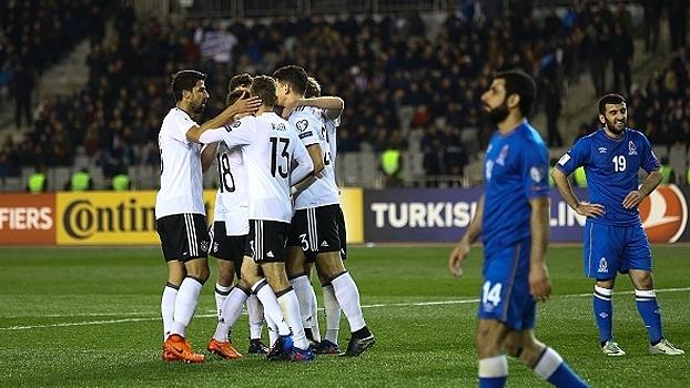 Assista aos gols de Alemanha 4 x 1 Azerbaijão, pelas Eliminatórias Europeias da Copa do Mundo de 2018