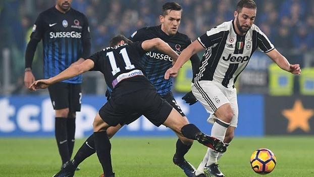 Nesta quarta tem Juventus x Atalanta pela Copa Itália, às 17h40, na ESPN e no WatchESPN