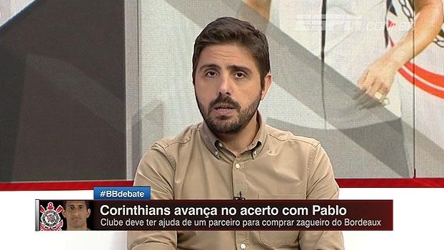 Corinthians conta com ajuda de parceiro para conseguir comprar Pablo; Nicola explica