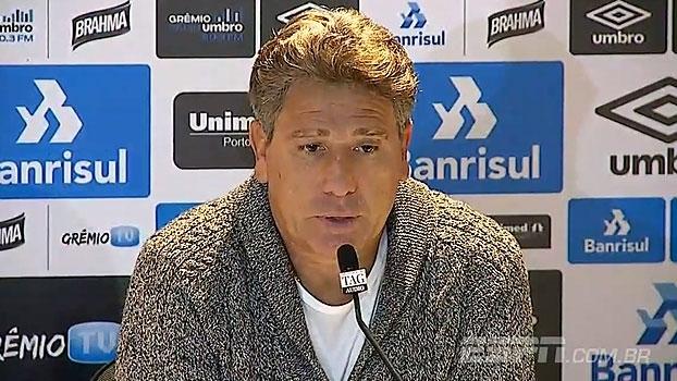 Renato Gaúcho destaca 'competência' de Grêmio e Corinthians: 'Ninguém dispara à toa'