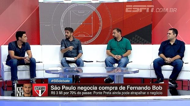 Segundo Jorge Nicola, São Paulo deve anunciar contratação de volante Fernando Bob; entenda