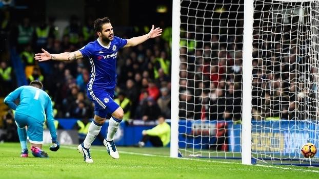Veja os gols da vitória do Chelsea sobre o Swansea por 3 a 1
