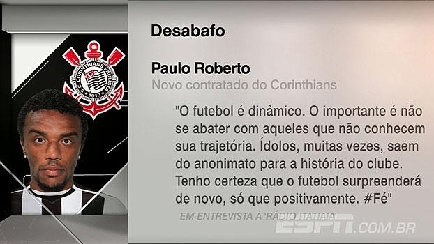 Sob desconfiança, novo reforço do Corinthians desabafa após críticas