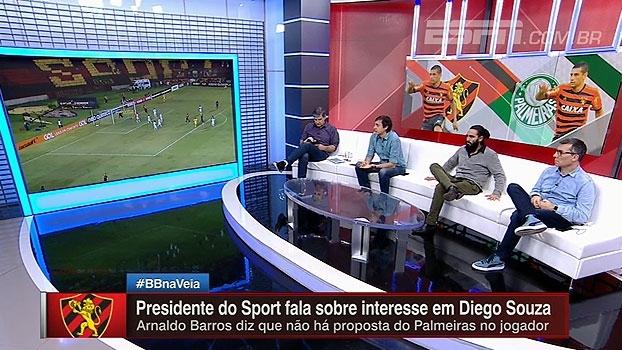 Presidente do Sport fala sobre multa de Diego Souza: 'Para os padrões brasileiros, é impagável'