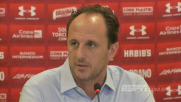 Após jogo contra o Corinthians, Ceni comenta fair play de Rodrigo Caio e declaração de Maicon