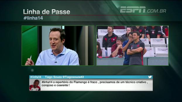 Gian: 'Hoje, se espera mais do Flamengo que de qualquer outro time do campeonato'