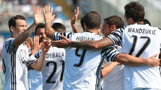 Italiano: Gols de Pescara 0 x 2 Juventus