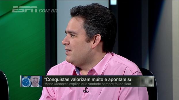 Bertozzi defende efetivação de Valentim no Palmeiras: 'Temos que aprender a correr riscos no futebol brasileiro'