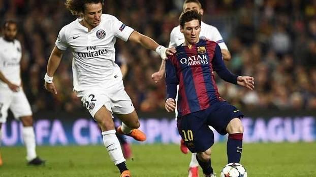 Barcelona evita euforia e vence PSG em mais uma noite ruim de David Luiz