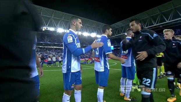 Confira os melhores momentos de Espanyol 2 x 1 Celta de Vigo