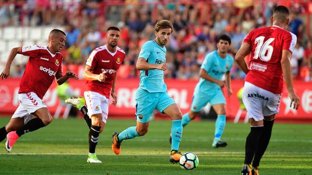 Amistoso internacional: Gols de Gimnàstic 1 x 1 Barcelona
