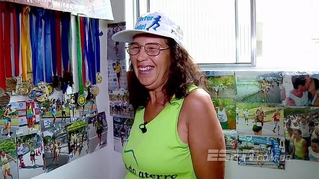 Ela venceu preconceito por ser mulher e agora quer completar mil corridas em 2017: conheça Delclemis Dias