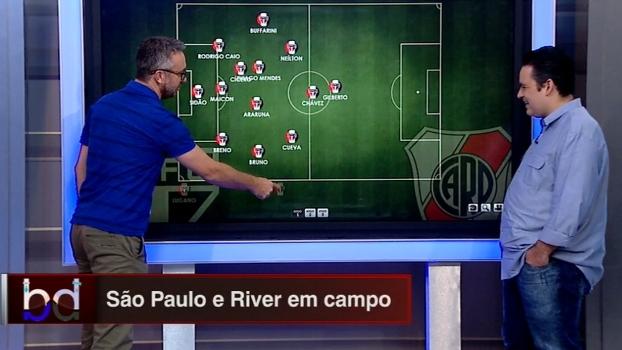 Volta aos três zagueiros: 'Dupla BB' escala São Paulo e River Plate para confronto na Florida Cup